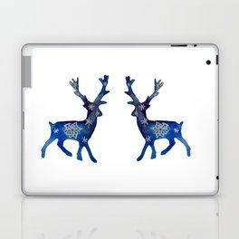 Winter Deer Snowflakes Laptop & iPad Skin
