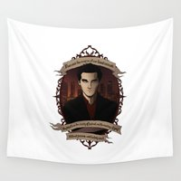 buffy Wall Tapestries featuring Angel - Angel/Buffy the Vampire Slayer by muin+staers