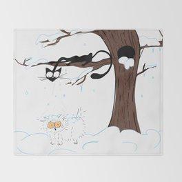Snow Day Throw Blanket