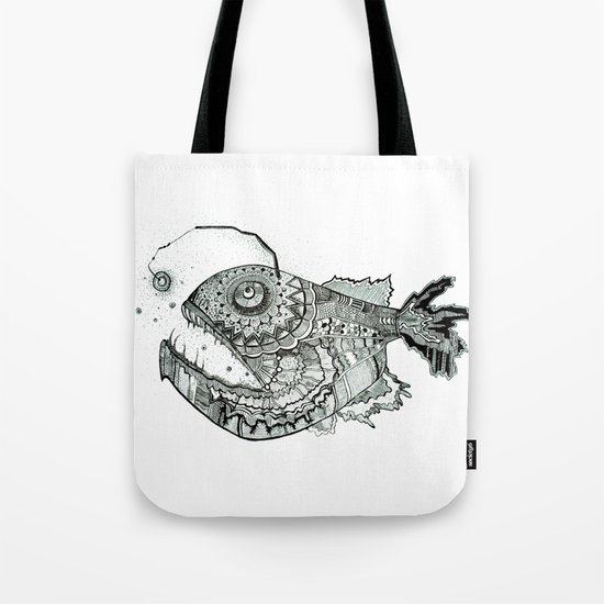 the iron fish Tote Bag