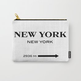 gossip girl sign Carry-All Pouch