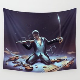 Outburst of violince Wall Tapestry
