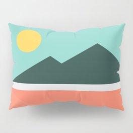 Geometric Landscape 16 Pillow Sham