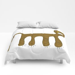 Squared Tiger Comforters