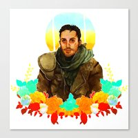 mad max Canvas Prints featuring Mad Max by chazstity