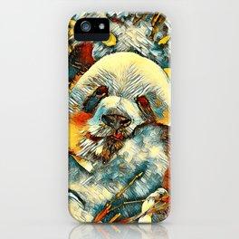 AnimalArt_Panda_20170812_by_JAMColorsSpecial iPhone Case