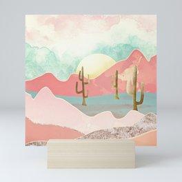 Desert Mountains Mini Art Print