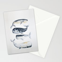 Whale 1 Stationery Cards