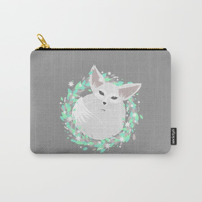 Baby Fennec / Spring Carry-All Pouch