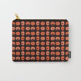 Carved Halloween Pumpkin Pattern Carry-All Pouch