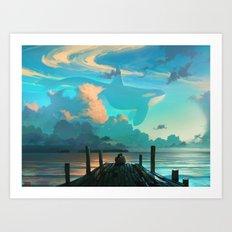 Sky for Dreamers Art Print
