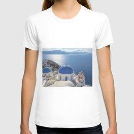 Santorini island in Greece T-shirt
