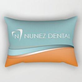 Nunez Dental Logo Rectangular Pillow
