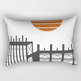 City in construction Rectangular Pillow