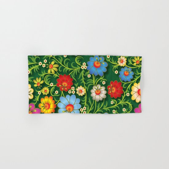 Shabby flowers #16 Hand & Bath Towel