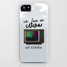 Cities you'll never see on screen - Lorde Slim Case iPhone (5, 5s)