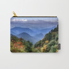 The Himalayas of Bhutan Carry-All Pouch