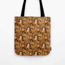 Mushroom Stitch Tote Bag