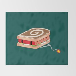 Dynamite Sandwich Throw Blanket
