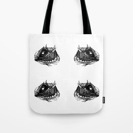 Lizzy (White) Tote Bag