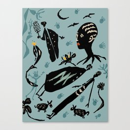 stolen magic from shaman Canvas Print