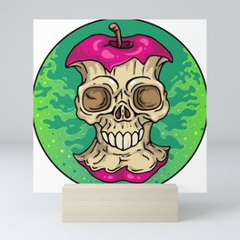 Skully Apple Mini Art Print
