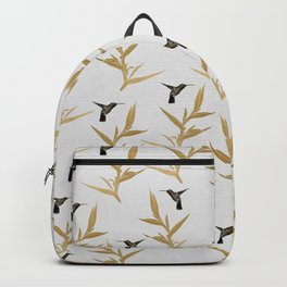 Hummingbird & Flower II Backpack