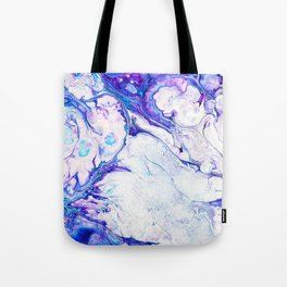 Jewel Rock #abstract #pattern #marble Tote Bag
