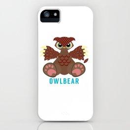 Owlbear iPhone Case