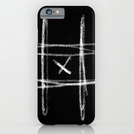 Tic-tac-toe Morpion iPhone Case