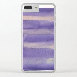 150213 Abstract Immersion 9 Clear iPhone Case