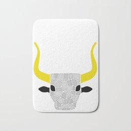 minoan bull Bath Mat