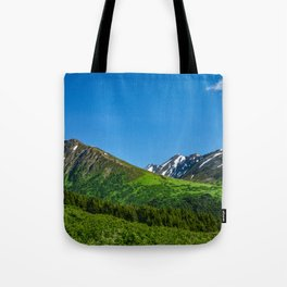 Alaskan Summer Greens - 1 Tote Bag