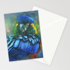 Macaw Magic Stationery Cards