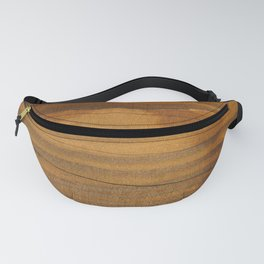 Wood texture Fanny Pack