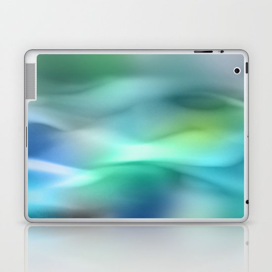 Blue Flame Laptop & iPad Skin