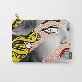 Roy Lichtenstein's Crying Girl & Grace Kelly Carry-All Pouch