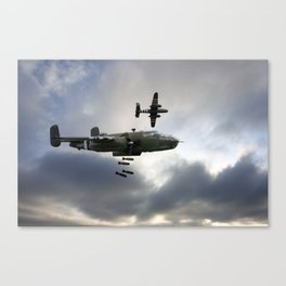 B25 Mitchell Bombers Canvas Print