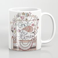 once upon a  time Mugs featuring once upon a time by RACHEL