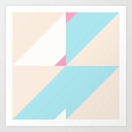 Geometric Pattern V Art Print