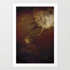 Harvestar Art Print