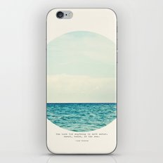 Salt Water Cure iPhone Skin
