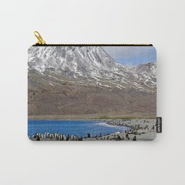 Fur Seals, King Penguins and Snowy Mountains Carry-All Pouch