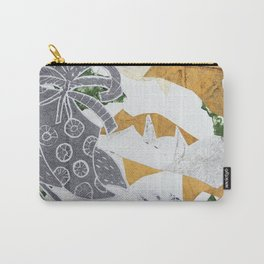 Tropical Toile Carry-All Pouch