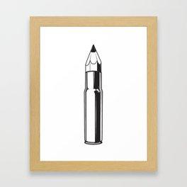 Bullet in the Head 2 Framed Art Print