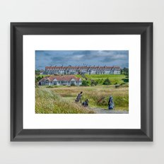 Turnberry Hotel and Golf Course Framed Art Print