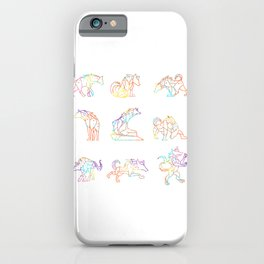 Hyena Graphic Patterns iPhone Case