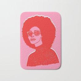 Kara Pink Bath Mat