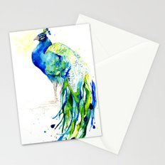 Peacock Series - II - Proud Prince Stationery Cards