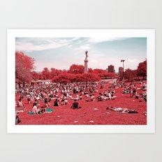 Montreal infrared Art Print